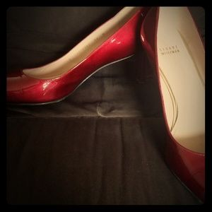 Stuart Weitzman Red Pumps Sz 11